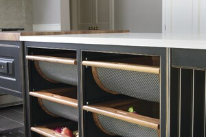 Custom Cabinets Keep Produce Fresh