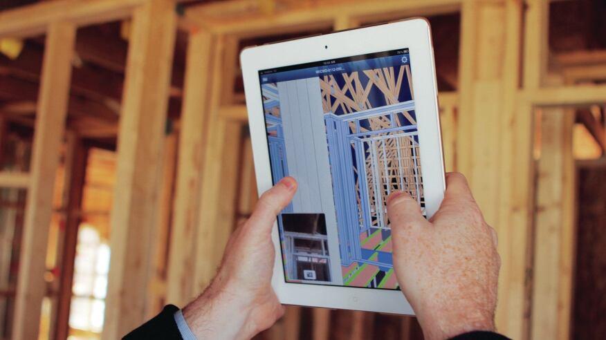 A mobile app brings MiTek's SAPPHIRE Viewer to iPads.