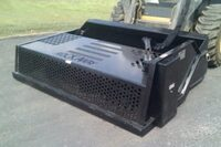 Attachment transforms your skid-steer into a rock rake