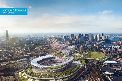 Boston Olympic Stadium 2024