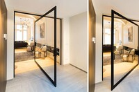 These Large Pivoting Doors Are Designed To Revolve 360°