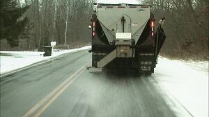 Milwaukee's pilot program uses cheese brine mixed with rock salt to help conserve snow- and ice-fighting costs.