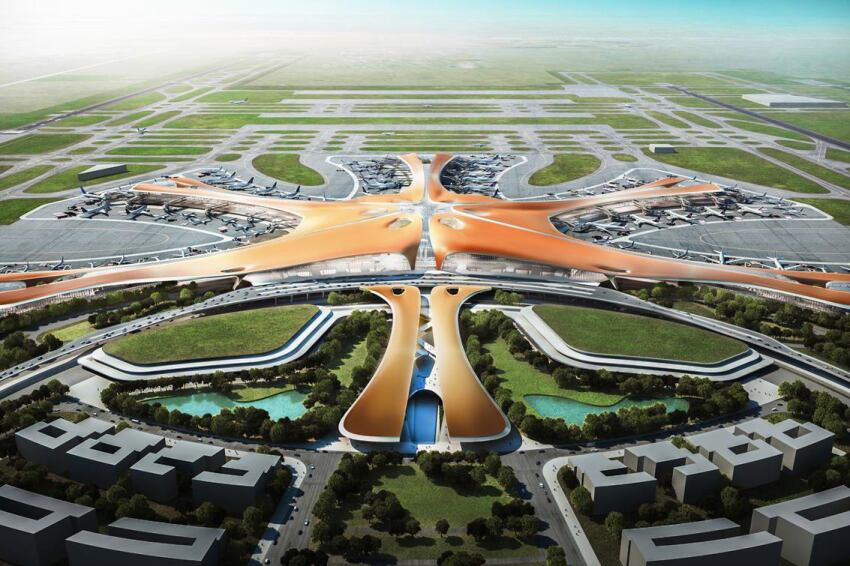 Zaha Hadid Architects and ADP Ingeniérie Complete Design Concept for the World's Largest Passenger Terminal in Beijing