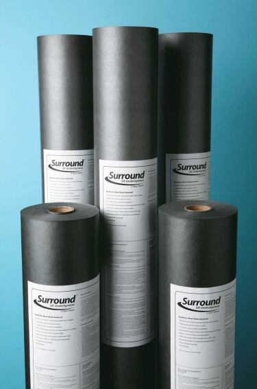 Underlayment Protects Against Moisture
