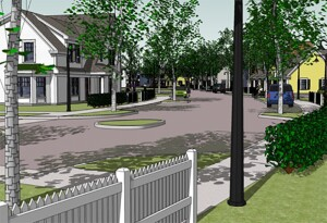The Greenridge Apartments proposal includes the development of 96 affordable homes on two sites in Burrillville's Pascoag Village; 75 townhouse apartments called Greenridge Commons will be constructed on South Main Street, and the Greenridge Downtown development will include 21 apartments in three mixed-use buildings.