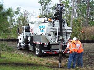 Vactor HXX vacuum truck