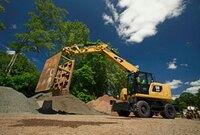 Wheeled Excavators from Caterpillar