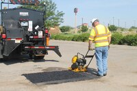 FP5 flameless pothole patcher from Bergkamp