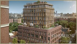 100 Barrow in West Village, Manhattan by Toll Brothers City Living