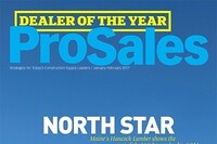 PROSALES MAGAZINE NAMES HANCOCK LUMBER DEALER OF THE YEAR