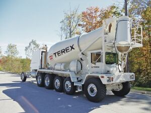 Because vocational vehicles such as ready-mix trucks cannot be made aerodynamic, many technologies are considered to improve their emissions.