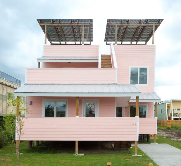 Gehry's Make It Right Home Opens in New Orleans
