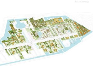 Original masterplan, conceived in 2009.