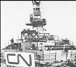 CN Tower, Toronto, 1975