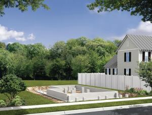NEW FOUNDATION: The Concept Home offers a more buildable and sustainable model for reviving the housing industry. The finished virtual house will be open for online tours on Jan. 19, 2010