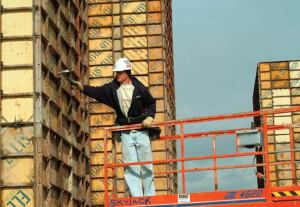 Steel frame and plywood forms are still the norm on many jobsites.