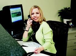 RAPID RESPONSE: Serena Imbrogno's goal is to respond to Internet sales leads within 24 hours and set up appointments with Hovnanian sales reps.