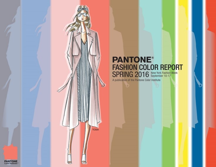 Pantone Releases the 10 Colors To Watch for in Spring 2016