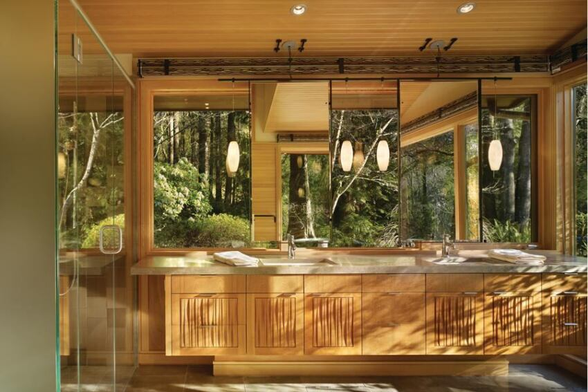 Lake Forest Park Renovation Bath by Finne Architects