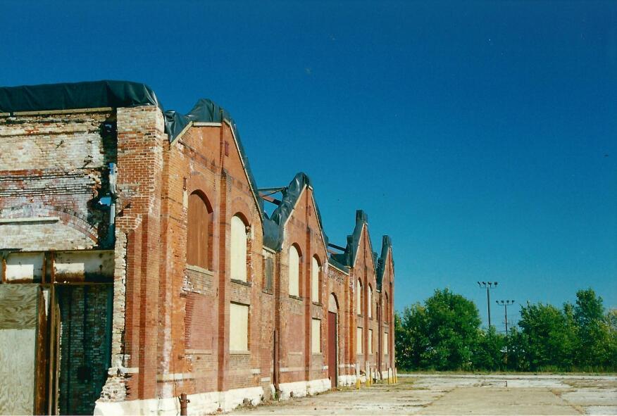 Former car building, Pullman, Ill.
