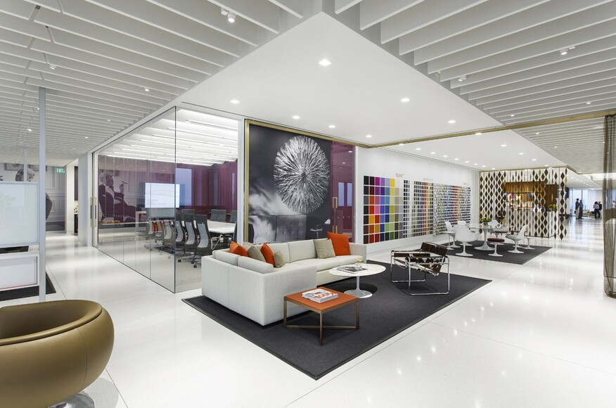 Knoll houston offices and showroom architect magazine for Top architecture firms houston