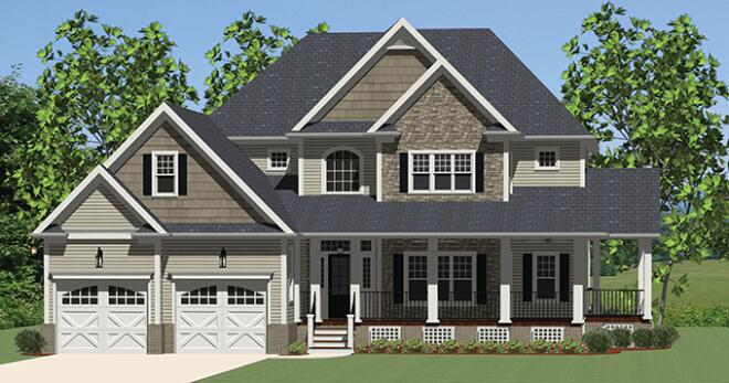 4 Home Plans Featuring 2014's Must-Have Design Trends