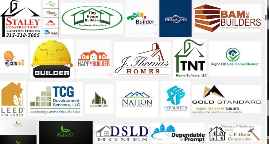 Builder logos ... what do they mean?