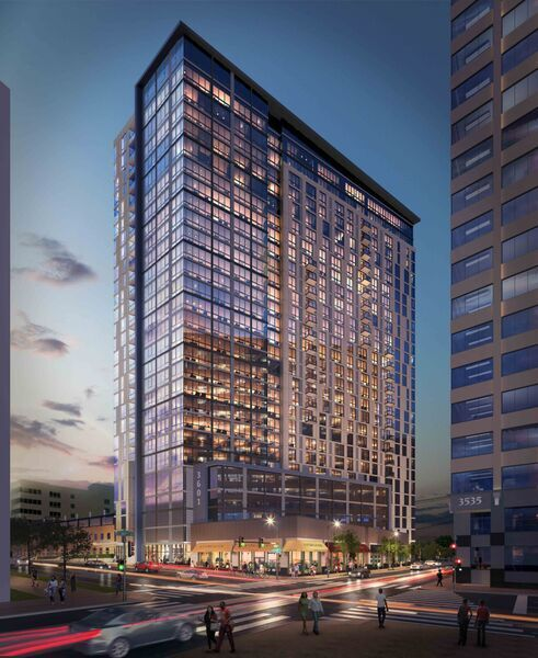 The mixed-use 3601 Market was designed with the idea of making its environs in University City a 24/7 destination.