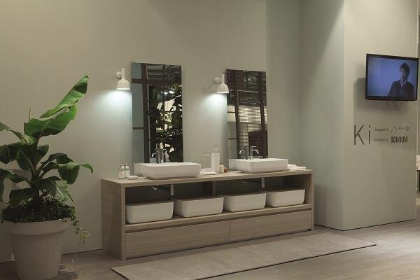 Oki Sato's Ki bathroom design for Nendo.