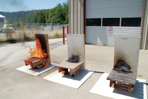 Fire resistant decks professional deck builder codes for Compare composite decking brands