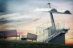 Observation Deck, Canton, Mo.
