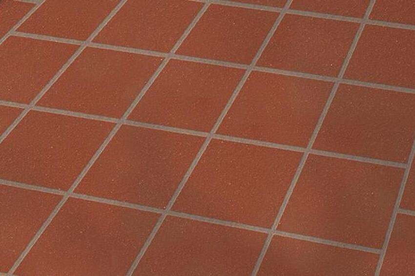 Unglazed ceramic quarry tile