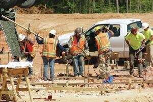 Camps Construction relied on its concrete capabilities to weather the recession.