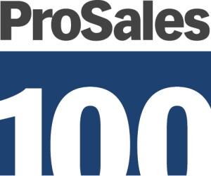 Logo promoting the ProSales 100