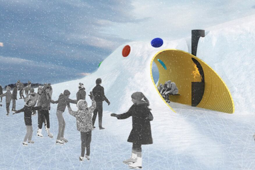 Shelter Winner: The Hole Idea - Design by Weiss Architecture & Urbanism Limited