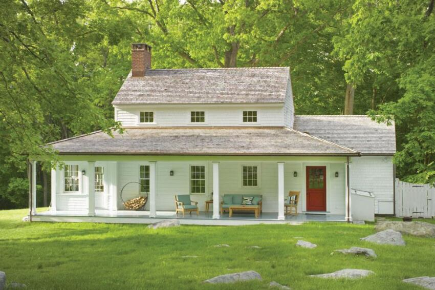 Cottage at Extown Farm, New Canaan, Conn.