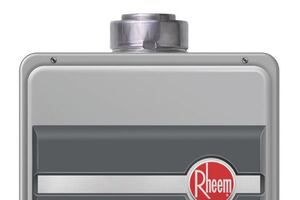Direct-Vent Gas Tankless Water Heater From Rheem