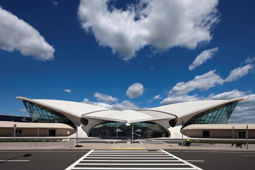 TWA Flight Center at JFK International Airport, Queens, N.Y.