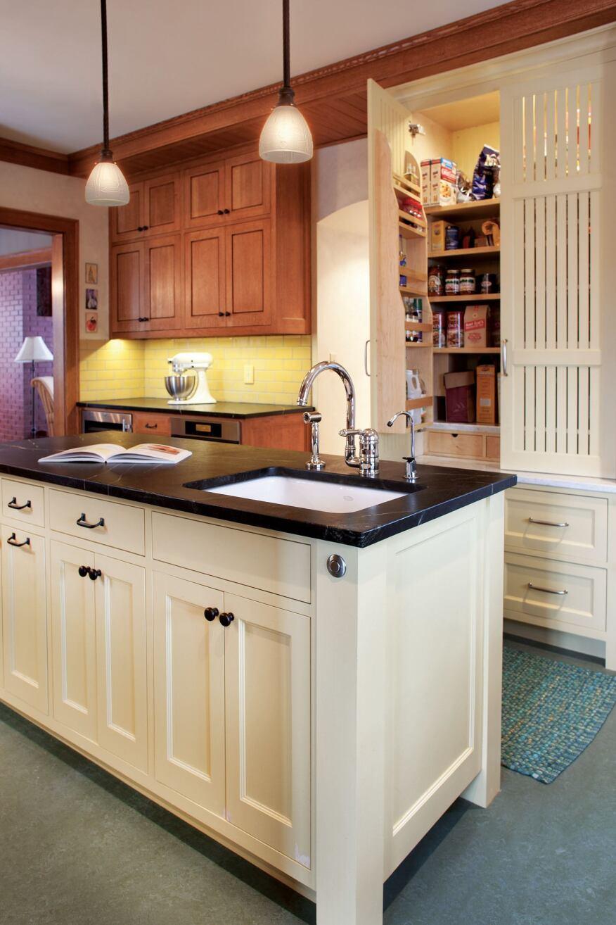 a minneapolis kitchen remodel captures the true craftsman spirit period details turn back the clock