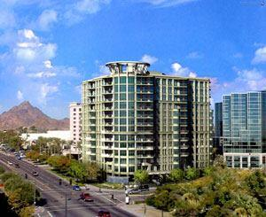 Esplanade Place was the fastest-selling luxury project in the Phoenix valley in 2003. Some condos sold for more than $1 million. The 12-story high-rise offers 56 luxury units developed by the Pivotal Simon Group with GHE&Associates Inc. Amenities include valet parking and a rooftop spa.