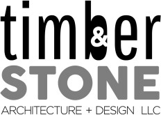 Timber & Stone Architecture and Design LLC Logo