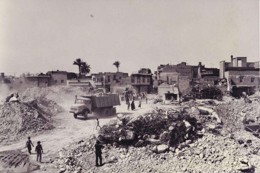 Demolition in Baghdad (1981)