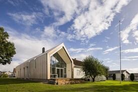 Contemporary design for traditional farmhouse