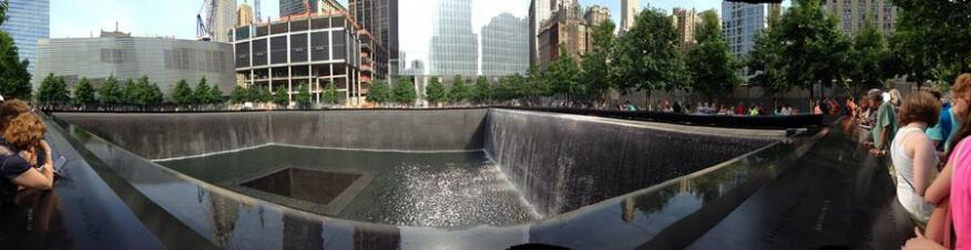 The National 9/11 Memorial in June.