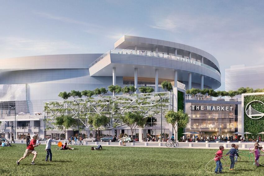 Golden State Warriors Release New Renderings of San Francisco Complex