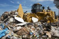 Caterpillar Works with M2 Industries on Rebuilt and Refurbished Landfill Compactor Wheels