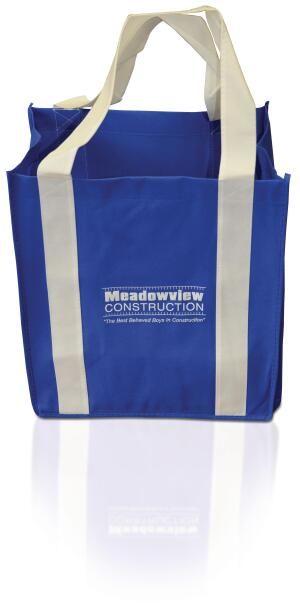 Bag It It cost remodeler David West $2 per piece for 500 reusable grocery bags, which includes the initial design set-up.