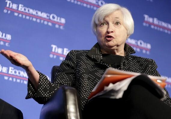 Federal Reserve Chairwoman Janet Yellen.