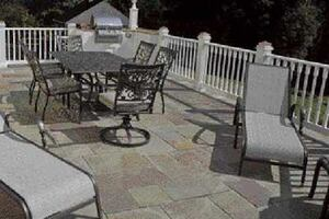 Paving a Deck With Stone