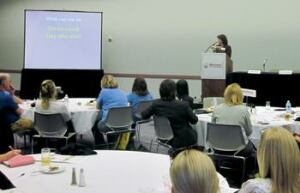 Women gathered at the Women in Concrete Luncheon & Forum for the sixth consecutive year at World of Concrete.